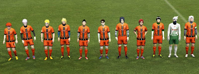 Naruto United Facepack PES 2013 by Addy Jams