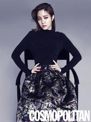 Naeun Apink Cosmopolitan November 2015