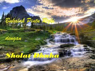 Keajaiban, Hikmah dan Keutamaan Sholat Dhuha
