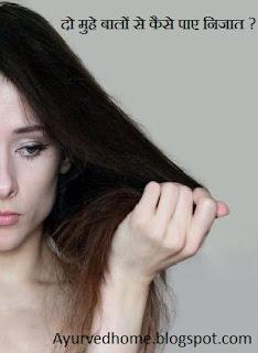 दो मुँहे बाल
