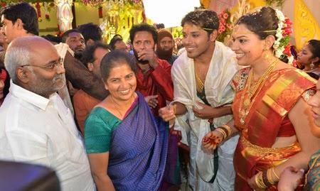 Geeta Madhuri And Nandu 's Marriage Photos