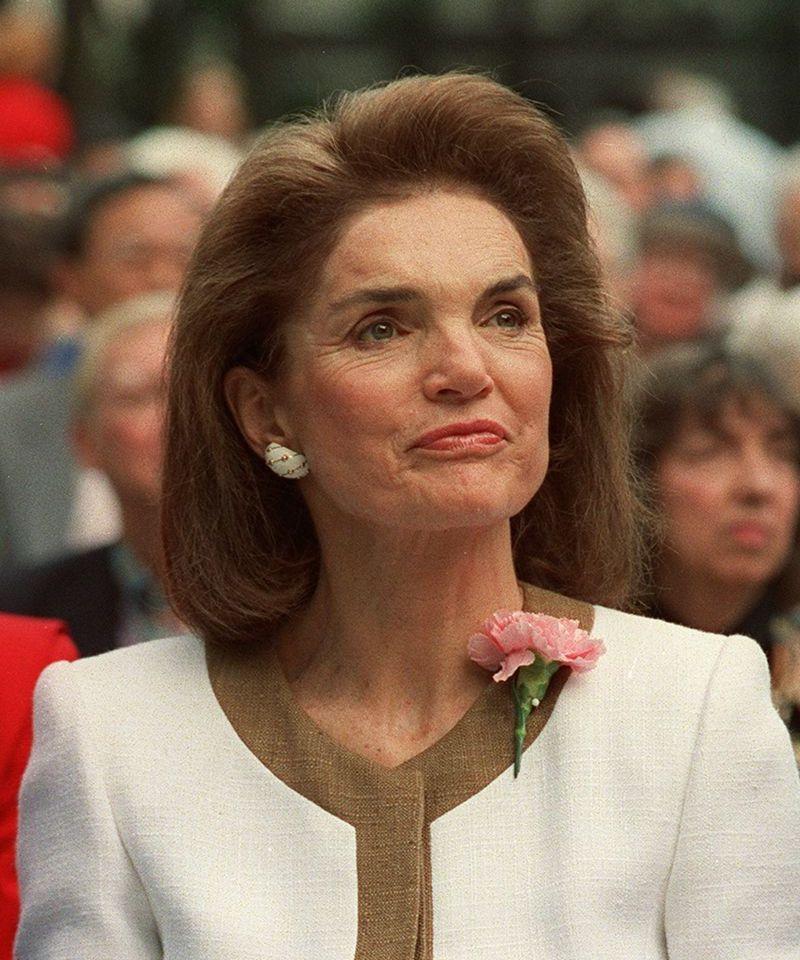 Jacqueline Kennedy Onassis, 1992