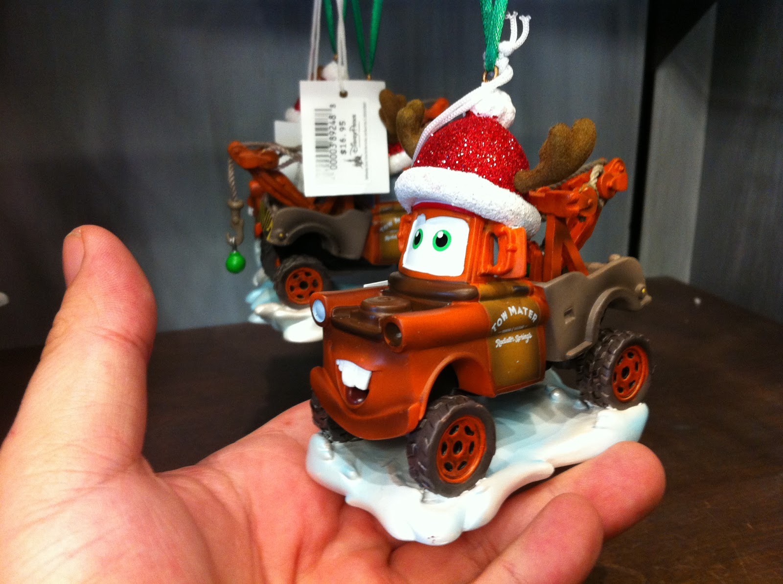Sasaki Time: Giveaway: Christmas in July Mater Ornament!
