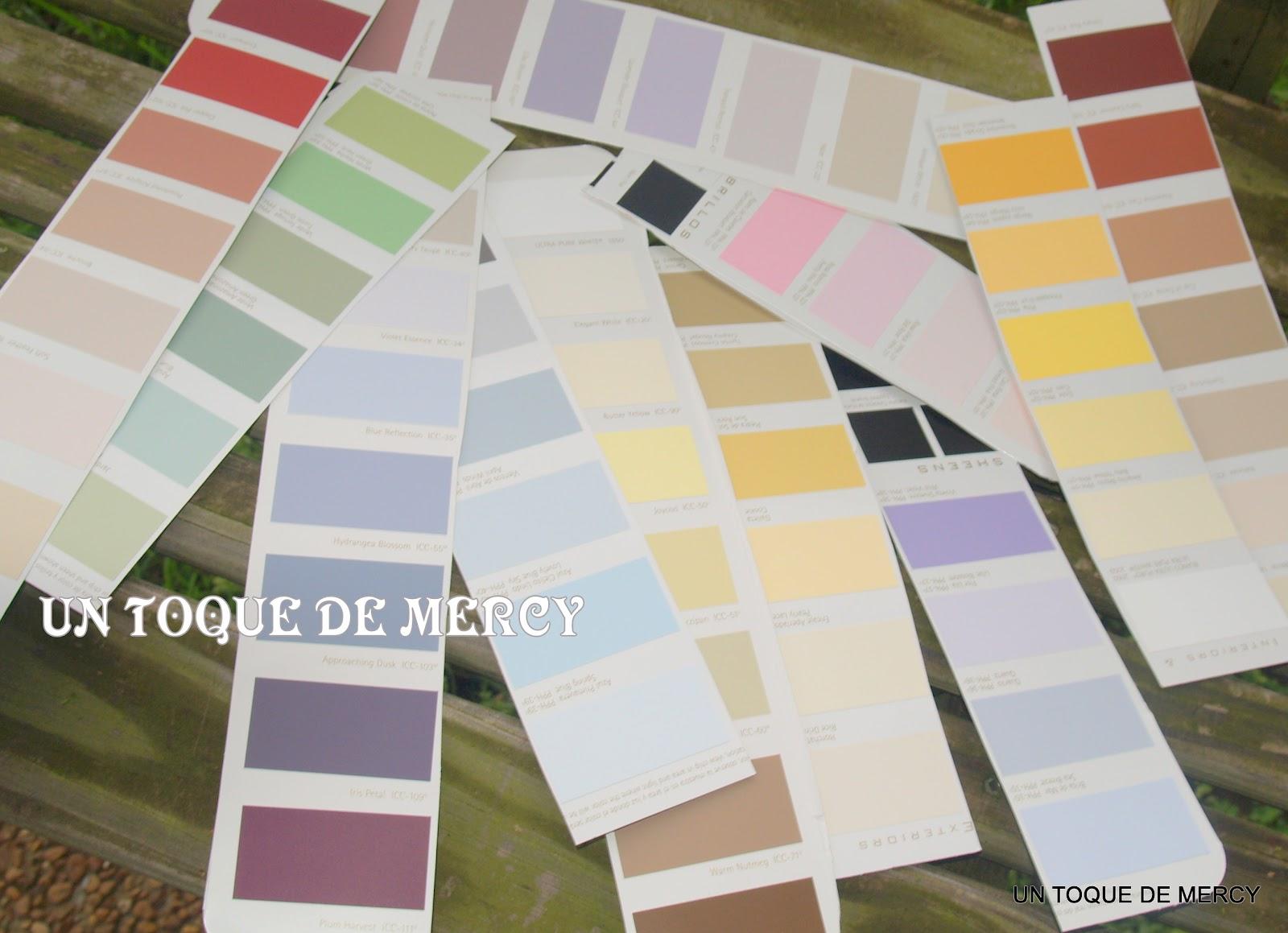 Un toque de mercy reciclar porta libro for Muestras de colores de pintura