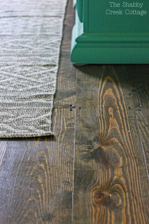 DIY Wood Flooring