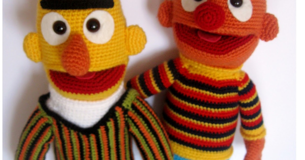 Yaseminkale: orgu oyuncak edi ile budu, amigurumi Bert ve ...