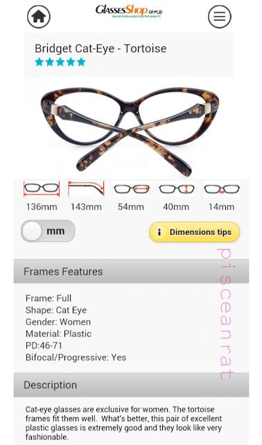 GlassesShop, Bridget Cat Eye in Tortoise, budget glass, glasses promo, glasses deal,