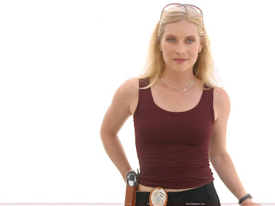 Emily Procter Hollywood Model Wallpaper