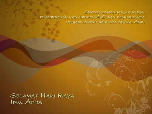 Kartu Ucapan Selamat Hari Raya Idul Adha
