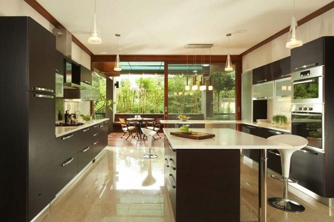 Hogares frescos hermosa casa chic de la firma total for Diseno de interiores cocinas