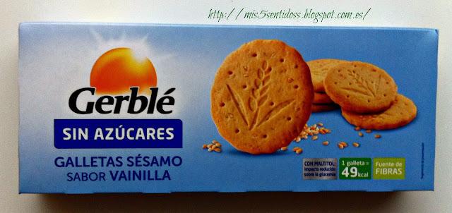 Gerblé Galletas de Sésamo con sabor Vainilla