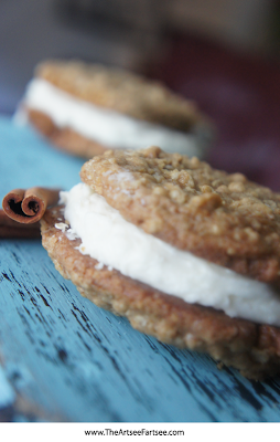 Perfect dessert for fall - Homemade Oatmeal Cream Pies
