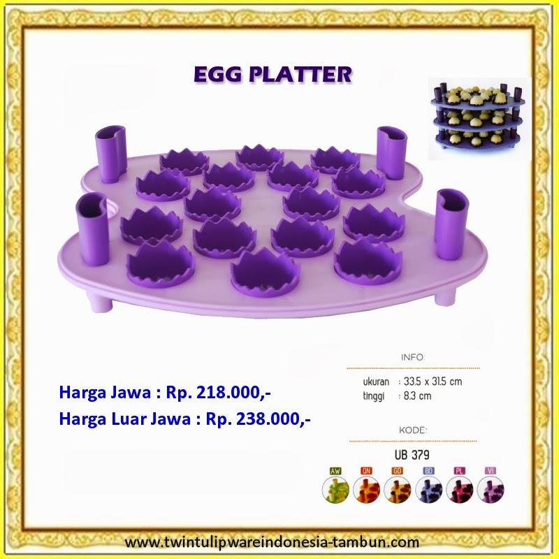 egg platter tulipware 2013