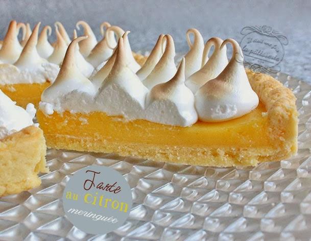 Tarte au citron meringu e cap p tisserie - Tarte citron meringuee recette ...