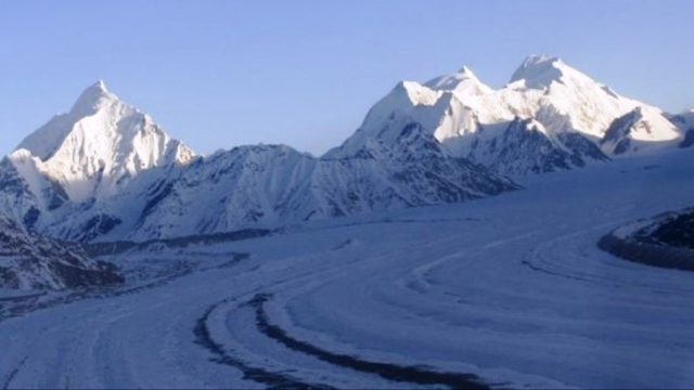 Siachen glacier northern Pakistn.