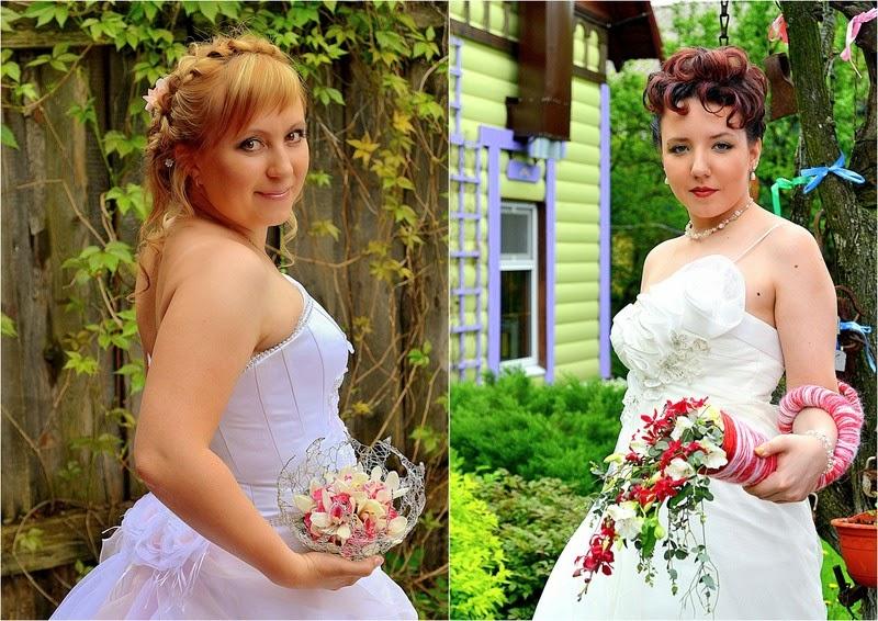 необычный букет невесты