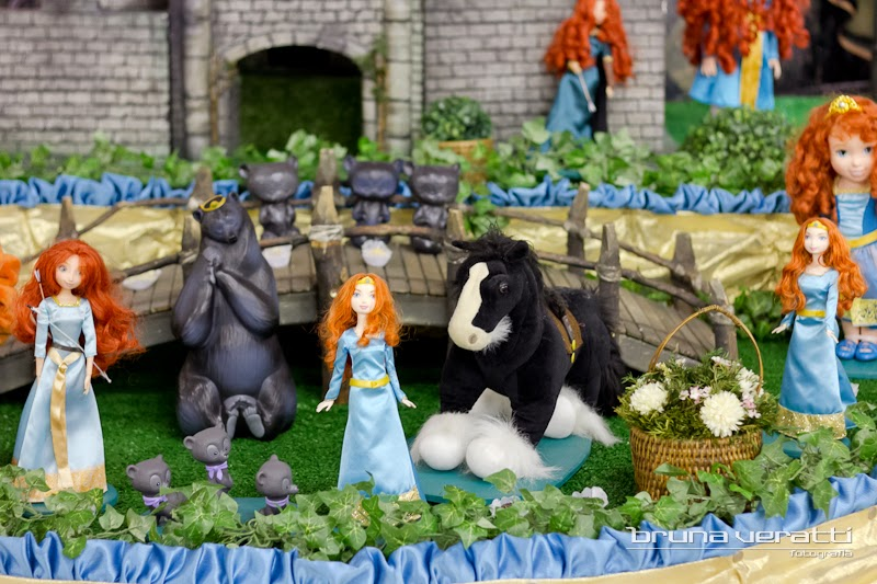 decoracao festa valente:de festa da princesa merida veja no link kit festa filme valente