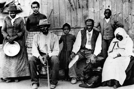 After fighting began harriet tubman went into enemy territory to spy