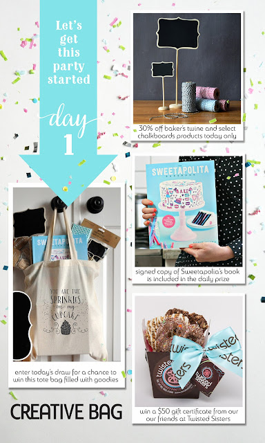 Creative Bag contest and daily specials