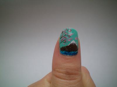 manicura-paisaje-japon-monte-fuji-nail-art