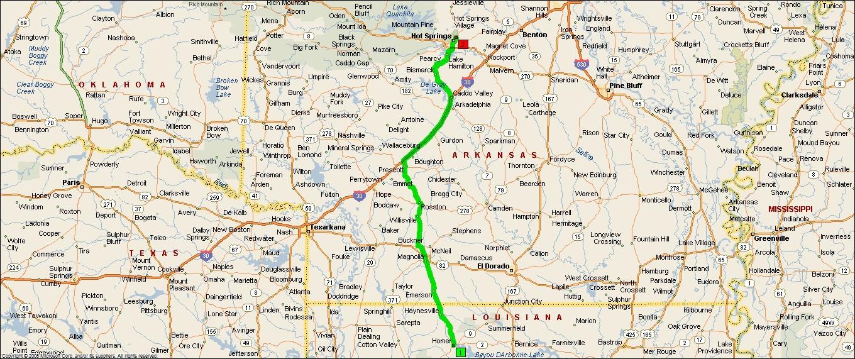 Roving Reports By Doug P 201211 Homer Louisiana To Hot