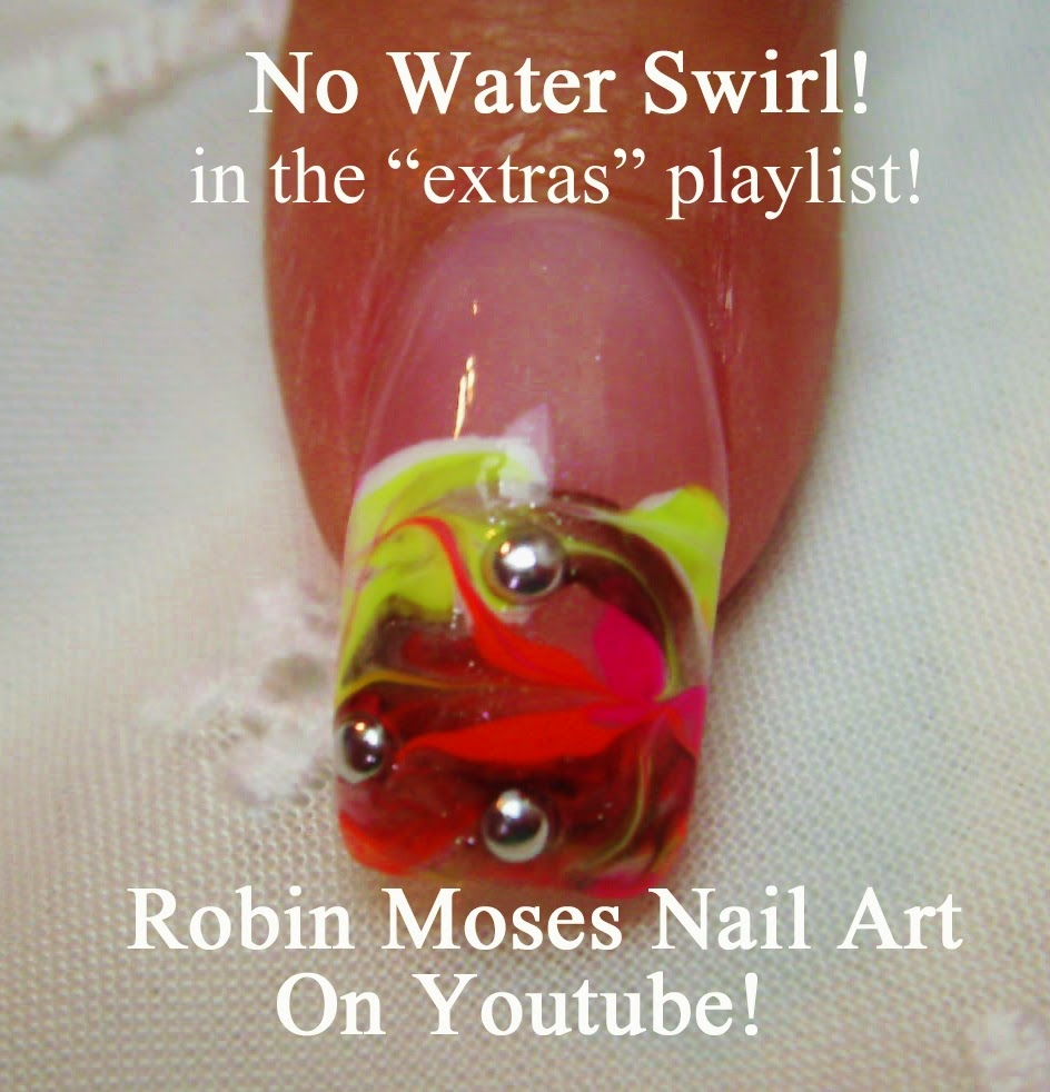 Diy Marble Nail Art Without Water ~ Diy water marble nail art with ...