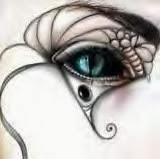 imagen de ojitos de mujer