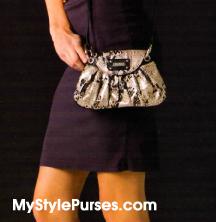 Stella Hip Bag - Snakeskin Hip Bag by Miche