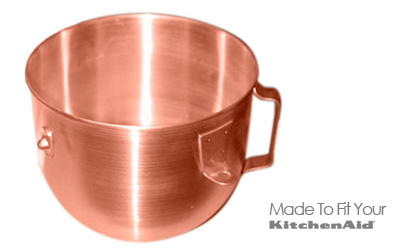 Copper Bowl Inserts For 5 Qt Narrow Bowl Mixers Discontinued In 1980s. Made  By Atlas Corp. And Old Dutch Copper But Are Now Discontinued And Only  Available ...