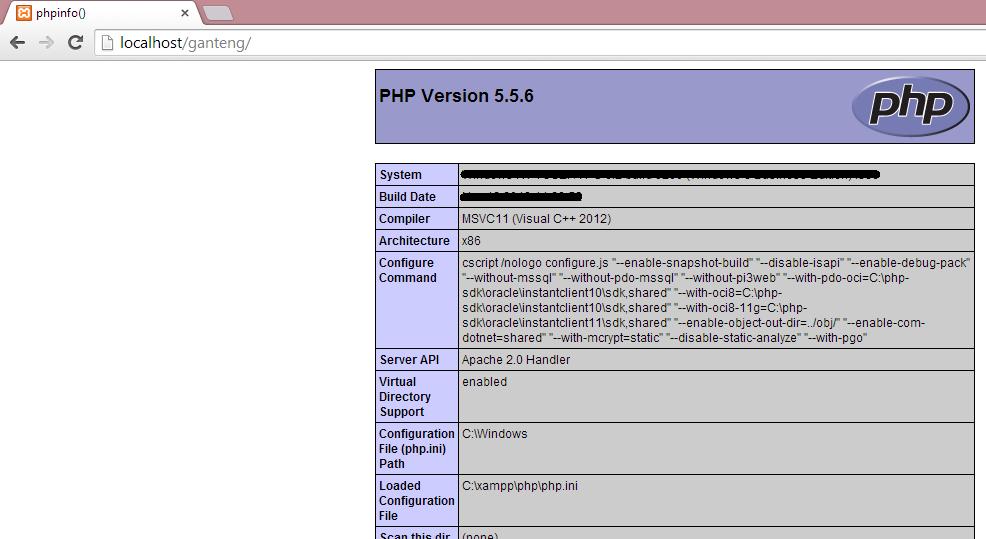 Cara Cek Versi PHP