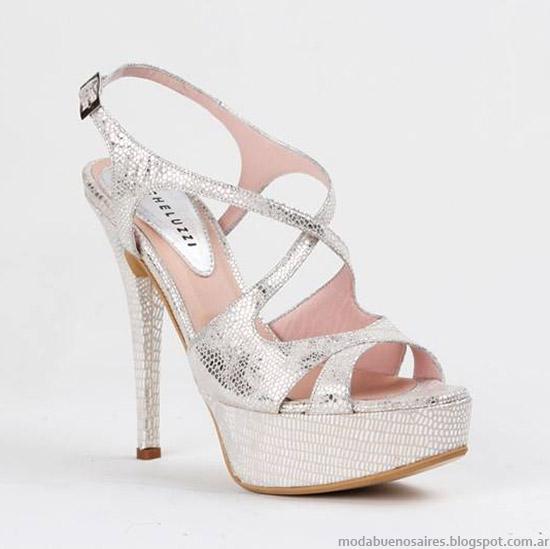 Micheluzzi primavera verano 2015 zapatos y sandalias de moda.