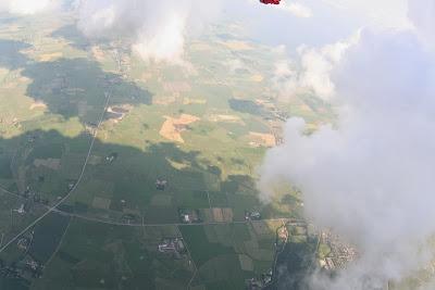 St. Peter-Ording: Fotos eines Tandem-Fallschirmabsprunges über dem ordinger Strand 20