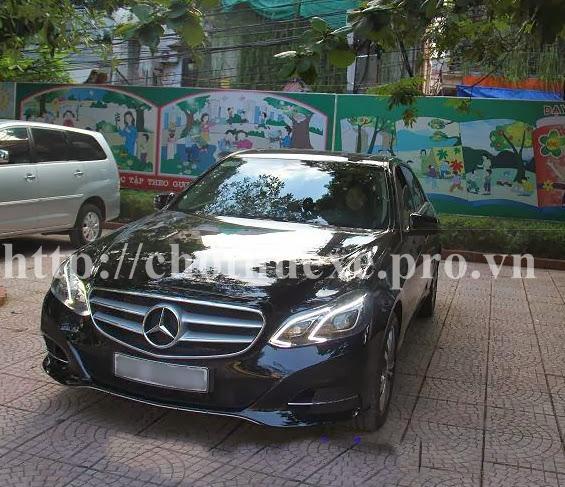 Cho thuê xe VIP Mercedes E 2014 tại Hà Nội