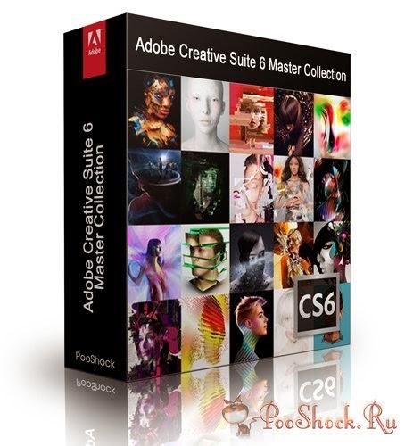Adobe Creative Suite Master Collection Mac CS6 - Download