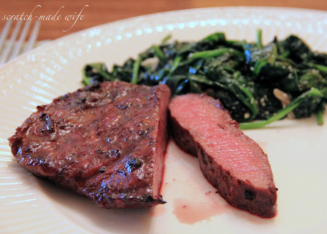 coffee marinated steak recipe