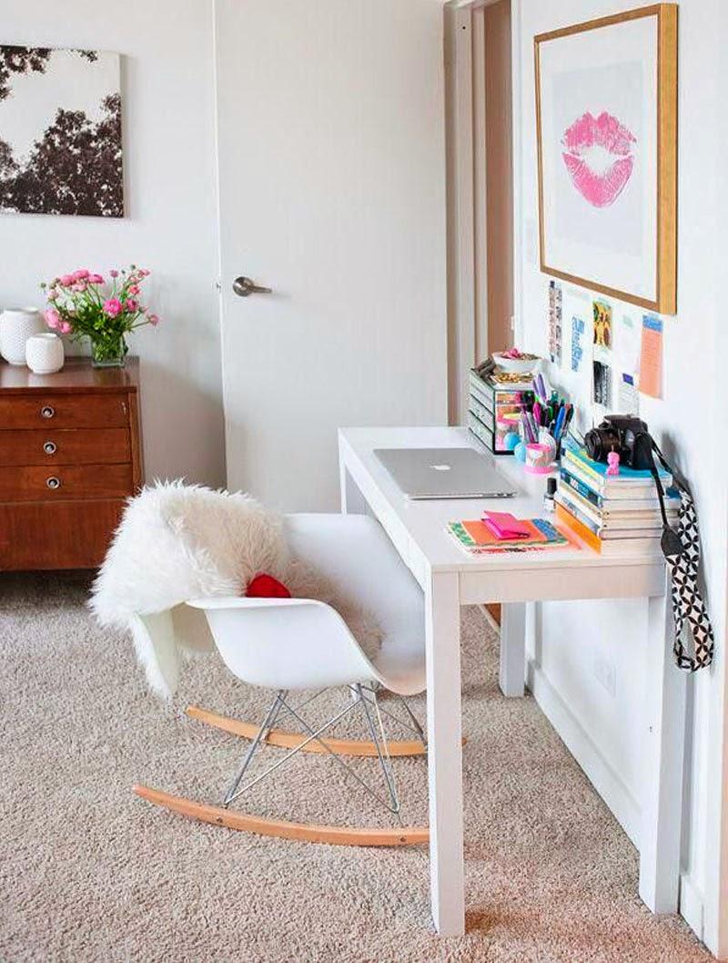 oficinas  pequeñas en el dormitorio