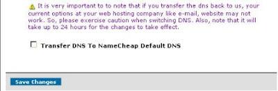 Mengarahkan domain ke server blogspot 1