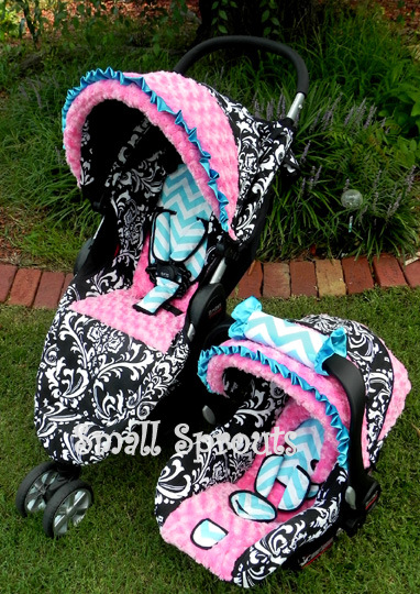 Small Sprouts Custom Stroller Covers