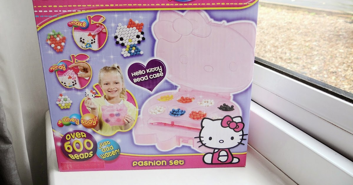 Aqua Beads Hello Kitty Fashion Set This Is Life