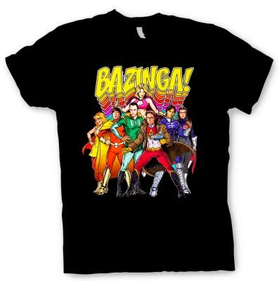 Camiseta Bazinga Superheroes