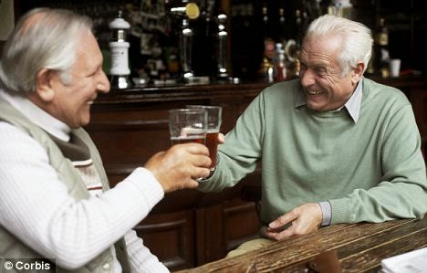 Wanted: Two drinking pals for dad