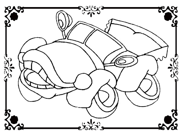 Antique Cars Coloring Pages Free