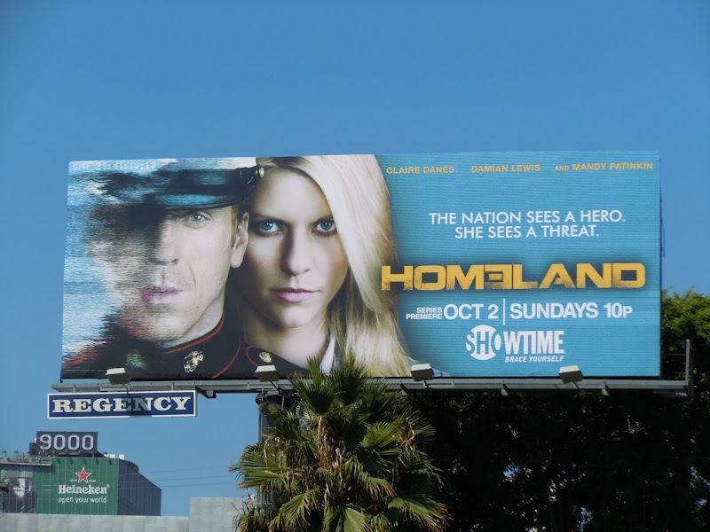 Homeland TV billboard