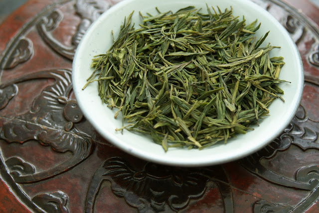 Long Jing de Terre de Chine