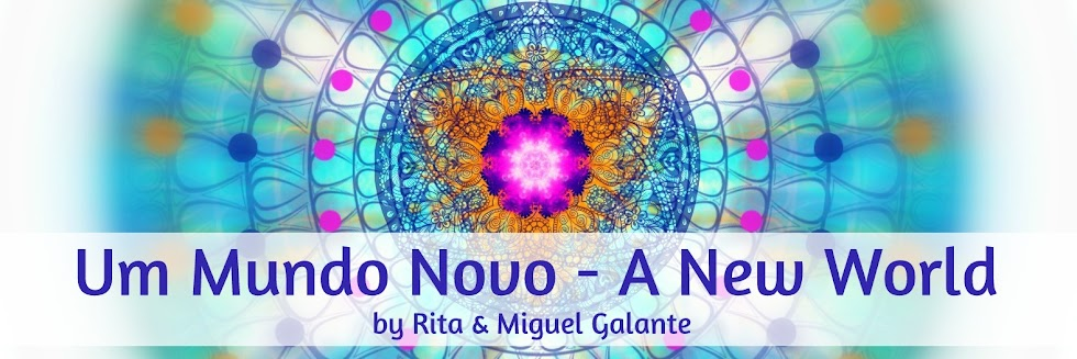 Mandala Art - Um Mundo Novo A New World by Rita & Miguel Galante