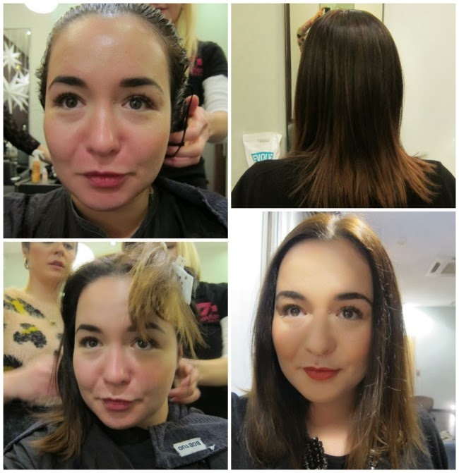 Intense Revival Keratin Treatment After Pictures