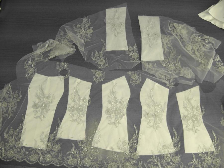 Cartamodello abito da sera