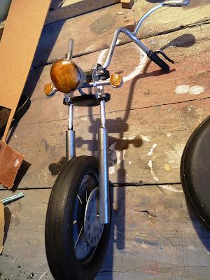 Frente de moto chopper Miniatura