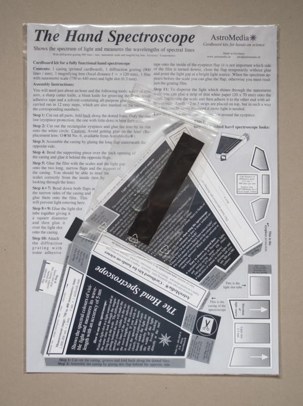 A szivárványgyáros - Astromedia spektroszkóp