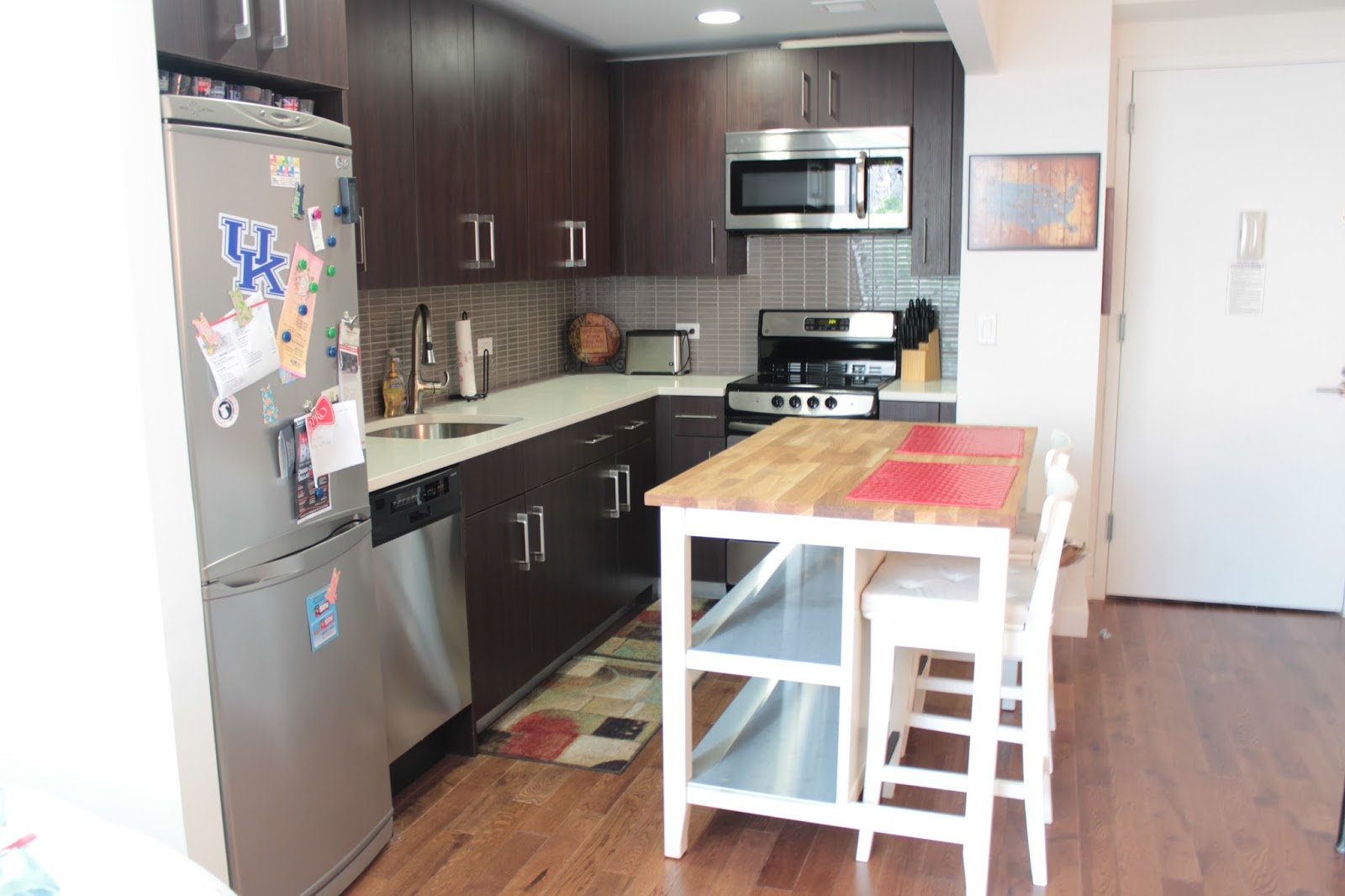 Home Plate Apartment Tour Part Covering The Bases Fashion